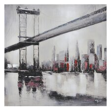 City Links II Canvas Wall Art