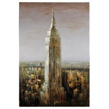 <strong>Ren-Wil</strong> Empire State Canvas Wall Art