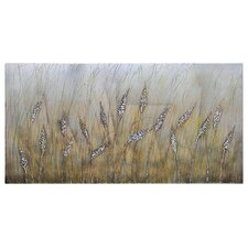 Wheat Fields Canvas Wall Art