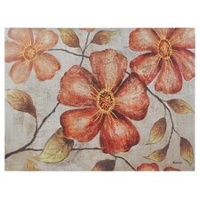 <strong>Ren-Wil</strong> Vintage Florals Canvas Wall Art