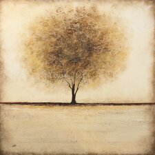 Silent Field by Nathalie Viens Painting Print on Canvas