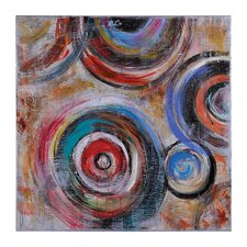 Rotation by Giovanni Russo Painting Print on Canvas