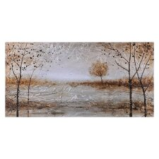 Late Autumn by Dominic Lecavalier Painting Print on Canvas