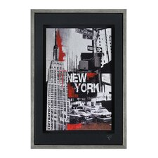 Urban Metropolis I by Giovanni Russo Framed Painting Print