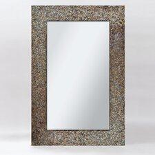 "Amber Mosaic 36"" H x 24"" W Mirror"