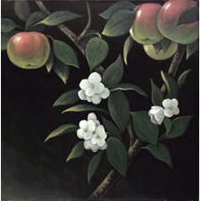 Forbidden Fruit by C. Viens Original Painting on Canvas