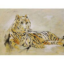 Bengal Beauty by C. Viens Original Painting on Canvas