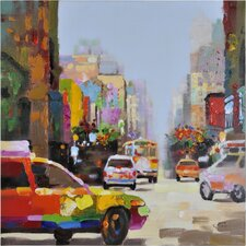 City Slickers by Giovanni Russo Original Painting on Canvas