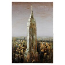 Empire State by Dominic Lecavalier Painting Print on Canvas
