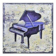 Piano by Ksenia Sizaya Original Painting on Canvas