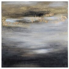 Golden Horizons by Liza Stones Painting Print on Canvas