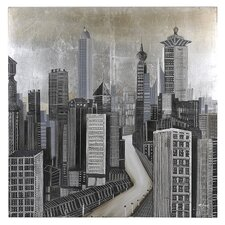 City of Dreams by Giovanni Russo Original Painting on Canvas