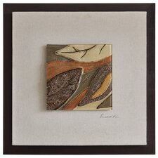 Shimmering Leaves II by Dominic Lecavalier Framed Painting Print