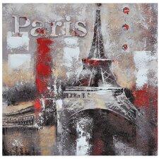 Memories of Paris Graphic Art