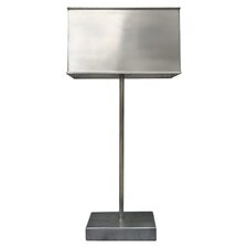 "Celia 21"" H Table Lamp with Rectangular Shade"