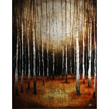 In the Shadows by St. Germain Original Painting on Canvas