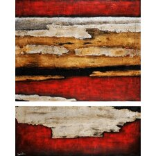 Blaze by St. Germain Original Painting on Canvas