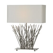 "Stick 23"" H Table Lamp with Rectangle Shade"