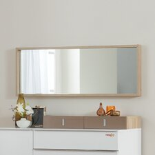White Mocha Children's Dresser Mirror