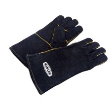 "14"" Leather Barbecue Gloves"