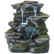 Resin-Stone Como Springs Fountain