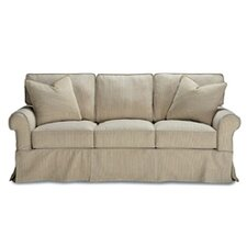 <strong>Rowe Furniture</strong> Rowe Basics Nantucket Slipcovered Queen Sleeper Sofa