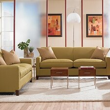 <strong>Rowe Furniture</strong> Martin Mini Mod Apartment Sofa and Loveseat