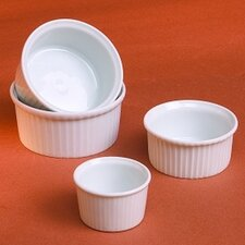 <strong>Pillivuyt</strong> Classic White 5 oz. Pleated Ramekin