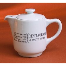 Brasserie 0.56-qt. Teapot