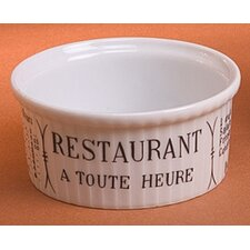 <strong>Pillivuyt</strong> Brasserie 5 oz. Pleated Ramekin