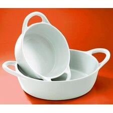 Eden 30 oz. Small Round Gratin Dish