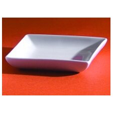 "3.5"" Square Dessert and Sauce Dish"