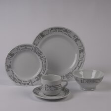<strong>Pillivuyt</strong> Brasserie 5 PC Dinnerware Set