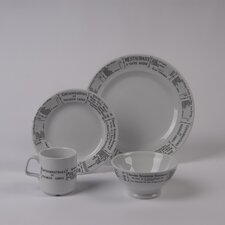 <strong>Pillivuyt</strong> Brasserie 4 PC Dinnerware Set