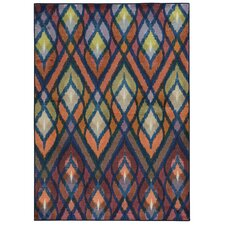 Prismatic Multi Geometric Rug
