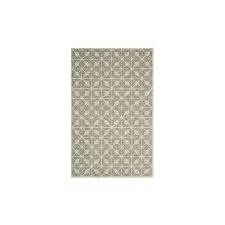 Dark Grey / Taupe Geometric Rug