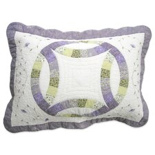 <strong>Nostalgia Home Fashions</strong> Ashley Cotton Sham