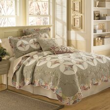 <strong>Nostalgia Home Fashions</strong> Victorian Crochet Quilt Collection