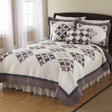 <strong>Nostalgia Home Fashions</strong> Britta Quilt Collection