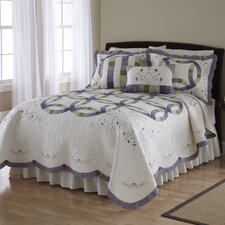<strong>Nostalgia Home Fashions</strong> Ashley Quilt Collection