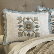 <strong>Nostalgia Home Fashions</strong> Kerry Cotton Standard Sham