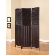 "70.4"" x 47.75"" Savannah 3 Panel Room Divider"