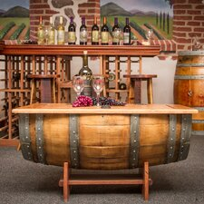 <strong>Napa East Collection</strong> Wine Barrel Coffee Table