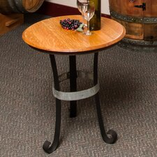 Iron Base End Table