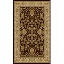 <strong>Ottomanson</strong> Sultan Dark Brown Rug