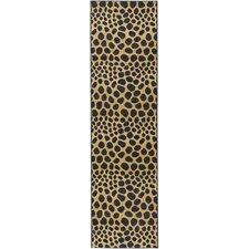 Ottohome Animal Print Leopard Rug