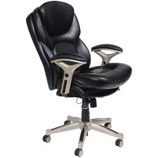 <strong>Serta at Home</strong> Back in Motion™ Health and Wellness Mid-Back Office Chair