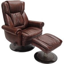 Premium Recliner and Ottoman