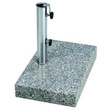 Granit-Balkonschirmständer eckig