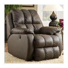 General Leather Chaise Recliner